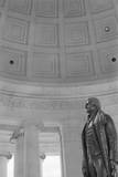 Thomas Jefferson by Rudolph Evans in the Jefferson Memorial Photographic Print by GE Kidder Smith