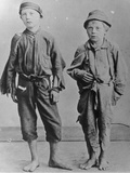 Homeless Boys in New York City Photographic Print by Jacob August Riis