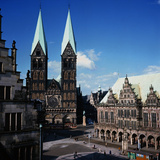 St. Petri Cathedral in Germany Photographic Print by Philip Gendreau