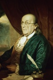 Portrait of Benjamin Franklin Photographic Print