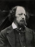 Poet Alfred Tennyson Photographic Print by Julia Margaret Cameron