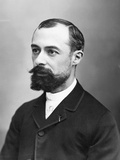 Henri Becquerel, Nobel Prize Winner in Physics Fotoprint van  Nadar
