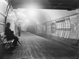 Interior of London Subway Photographic Print