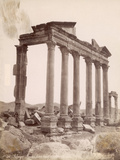 Ruins of a Temple in Palmyra Photographic Print