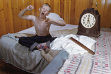 Boy Waking Up Photographic Print by William P. Gottlieb