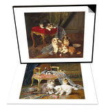 Mischief Makers & Own Up Set Print by Leon Charles Huber