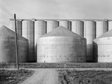 Kansas Grain Elevators Photographic Print by GE Kidder Smith