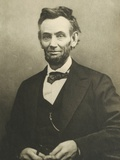 Abraham Lincoln by Alexander Gardner Reproduction photographique