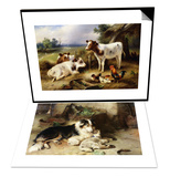 Motherless: The Shepherd's Pet & Farmyard Friends Set Prints by Walter Hunt