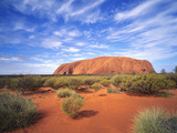 Ayers Rock, Uluru National Park, Northern Territory, Australia Photographic Print by Larry Williams