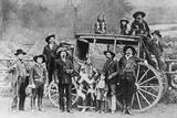 Buffalo Bill Cody's Wild West Troupe Reproduction photographique