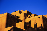 Pueblo and Blue Sky Photographic Print by Kevin Schafer