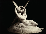 Cupid and Psyche by Antonio Canova Photographic Print