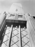 Empire State Building Seen from Below Photographic Print