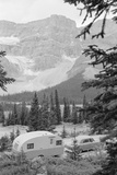 Crowfoot Glacier from Icefields Parkway Photographic Print by Philip Gendreau
