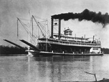 Mississippi River Steamboat Photographic Print