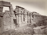 Colonnade of Temple of Isis Photographic Print