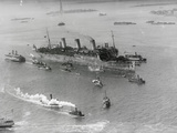 Leviathan Entering Harbor Photographic Print