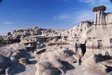 Desolate Canyon of Bisti Wilderness Area Photographic Print by John McAnulty