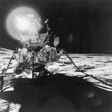 Lunar Module Antares on the Moon Photographic Print
