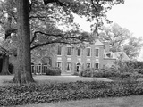 Garden Front of Woodlawn Plantation at Mount Vernon, Virginia Photographic Print by GE Kidder Smith