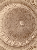 Ceiling of the Cupola of St. Peter's Basilica Photographic Print