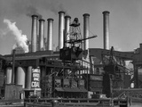 Coal-Fired Power Plant Photographic Print