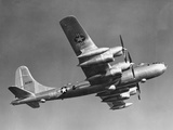 Boeing B-50D Superfortress in Air Photographic Print