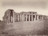 The Ramesseum Photographic Print