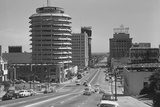 Capitol Records Building on Hollywood Street Photographic Print by Philip Gendreau