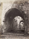 Pathway Leading to Palace of Herod Photographic Print