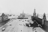 Aerial View of Red Square Photographic Print