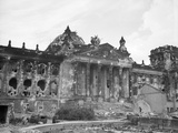 Reichstag after World War II Photographic Print
