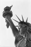 Detail of the Statue of Liberty by Frederic Auguste Bartholdi Photographic Print