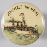 Remember the Maine Pin Photographic Print