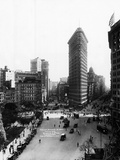 Flatiron Building and Broadway Photographic Print