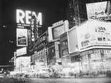 Times Square Nightlife Photographic Print