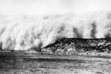 Dust Storm in Texas Panhandle Photographic Print