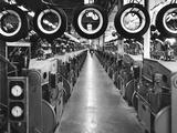 Tires at a Goodyear Plant Photographic Print by Charles Rotkin