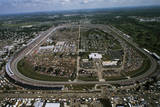 Aerial View of Indianapolis Speedway Photographic Print