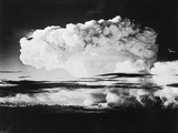 Mushroom Cloud from a Nuclear Test Photographic Print