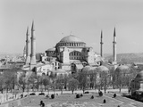 Hagia Sophia Mosque in Istanbul Photographic Print by GE Kidder Smith