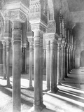 Columns in Alhambra Mosque Photographic Print