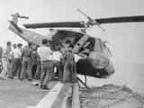 US Choppers Ditched after Saigon Pull-Out Photographic Print