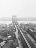 View of Brooklyn Bridge Photographic Print