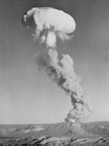 Mushroom Cloud Forming after Blast Photographic Print