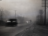 Dust Storm in Kansas Photographic Print