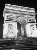 View of the French Arch of Triumph Photographic Print