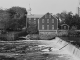 Old Slater Mill Photographic Print by GE Kidder Smith