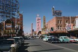 Las Vegas Street Scene Photographic Print by Philip Gendreau